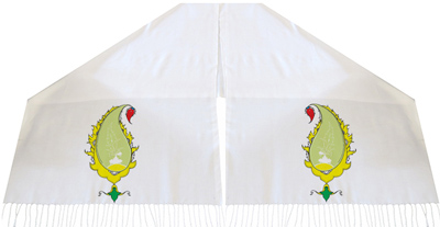 شال سنتی طرح بته جقه