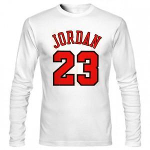 تی شرت آستین بلند بسکتبال jordan