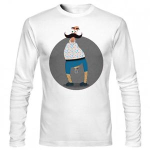 تی شرت آستین بلند ایرانی طرح مرد