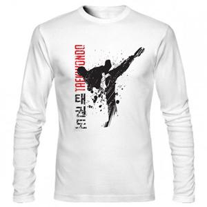 تی شرت آستین بلند ورزشی taekwondo
