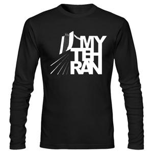 تی شرت آستین بلند تهران my tehran