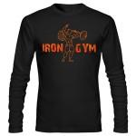 تی شرت آستین بلند بدنسازی iron gym