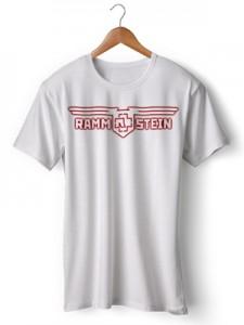 تی شرت متال لوگو گروه rammstein