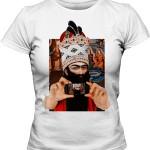 تی شرت ایرانی زنانه طرح اختصاصی فتحعلی شاه