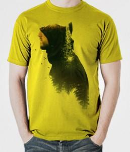 تی شرت گرافیکی اختصاصی طرح the man