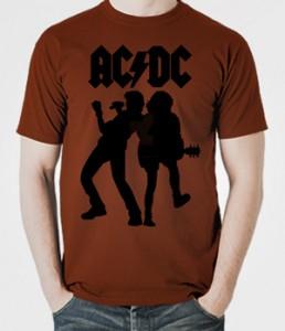 تی شرت راک باند گروه AC/DC