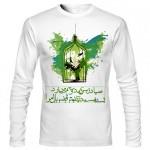 تی شرت فارسی آستین بلند طرح اختصاصی قفس