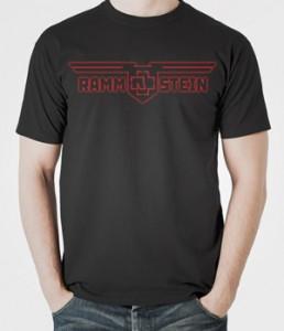 تیشرت متال گروه rammstein