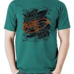 تی شرت تایپوگرافی