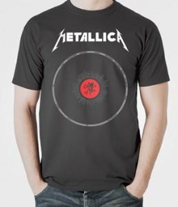 تی شرت های متالیکا metallica poster