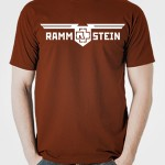 تی شرت متال گروه rammstein