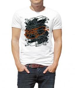 تی شرت شعر طرح عشق پیدا شد
