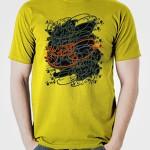 خرید تی شرت تایپوگرافی
