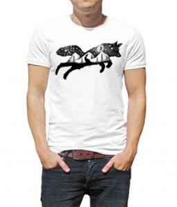 تی شرت حیوانات گرگ طرح Thiago