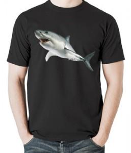 تیشرت حیوانات طرح کوسه shark
