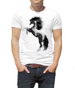 تیشرت حیوانات طرح اسب