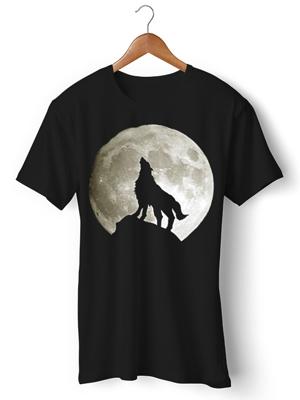تی شرت حیوانات طرح Lobo