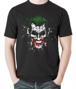 تی شرت جوکر مردانه طرح joker design