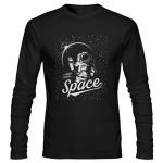تی شرت آستین بلند هوا فضا طرح space