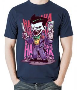 تیشرت جوکر مردانه طرح joker chibi