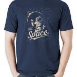 تی شرت هوا فضا طرح space