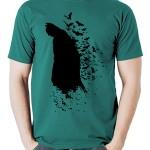 تی شرت batman طرح superhero