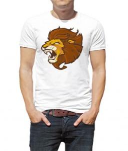 تی شرت با طرح شیر SOSFactory