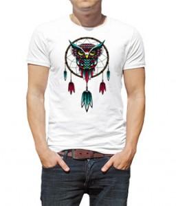 تی شرت با طرح جغد owl