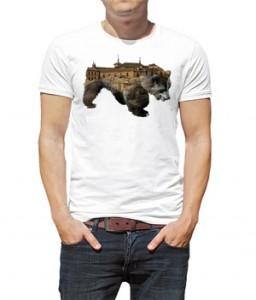 تی شرت حیوانات طرح خرس bear