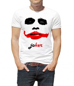 تیشرت جوکر طرح stencil joker