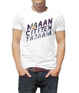 تی شرت فارسی طرح سیتیزن فضا