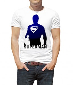 تی شرت طرح سوپرمن justice league