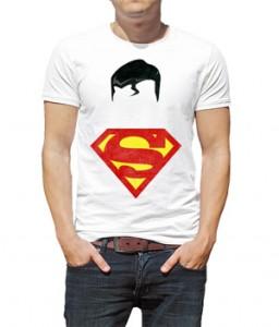 تیشرت سوپرمن طرح minimalist