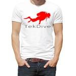 تی شرت غواصی طرح tek dive
