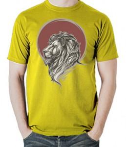 تی شرت طرح شیر Lion Head
