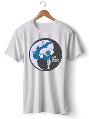 تی شرت جودو طرح as judo