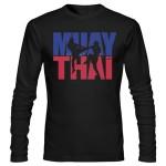 تیشرت موی تای muay thai logo