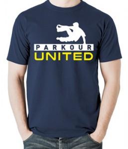 تیشرت پارکور طرح parkour united