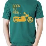 تیشرت موتور سواری born to ride