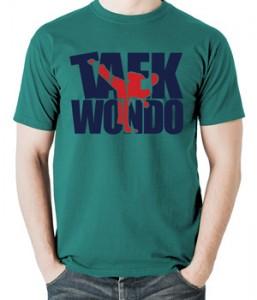 تیشرت تکواندو طرح taekwondo shirt