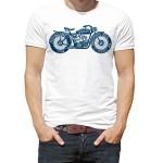 تیشرت موتور سواری طرح vintage bike