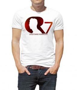 تیشرت کریس رونالدو طرح cr7