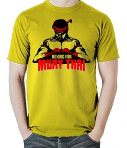 تی شرت موی تای طرح boxing