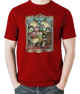 تی شرت ایرانی طرح اولین سلفی