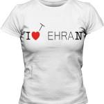 تیشرت تهران طرح i love tehran