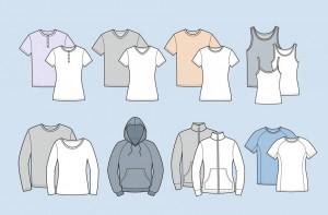 آشنایی با انواع تی شرت