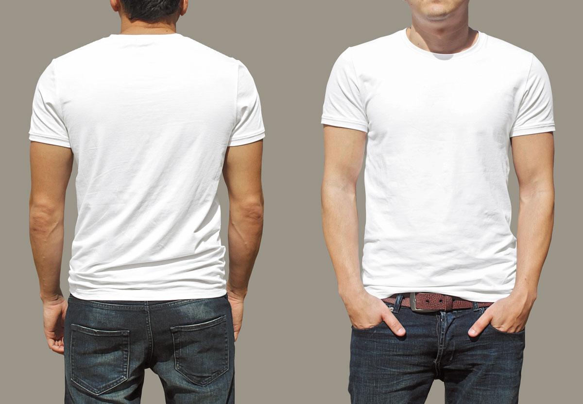 تی شرتهای سفید