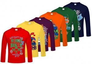 انواع رنگ های تی شرت برای شیک پوشان